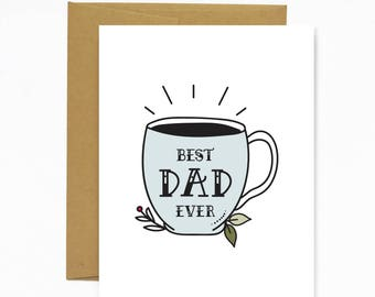 Best Dad Ever (Father's Day Card)