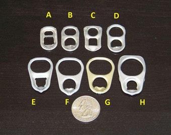 500 SQUARE (TYPE C) aluminum pull tabs