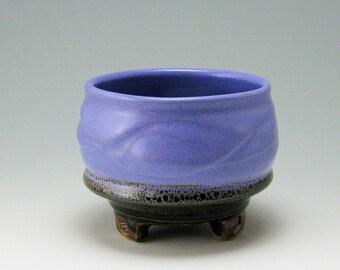 Matcha Tea Bowl, Serving Bowl, hand-thrown stoneware bowl