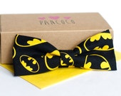 Batman bowtie - Adjustable - Unisex
