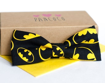 Batman bowtie - Adjustable - Unisex