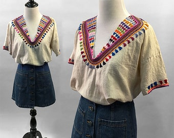 GYPSET embroidered Top