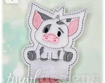 Spotted Pig Finger Puppet Toy Digital Design File