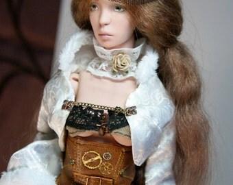 Karina - BJD doll of porcelain