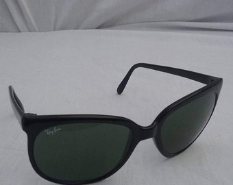 Sunglasses Ray Ban France Cats black frame vintage original