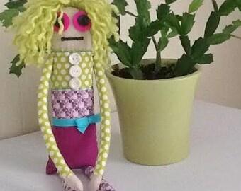Mini Cute Ugly Soft Doll Rag Doll