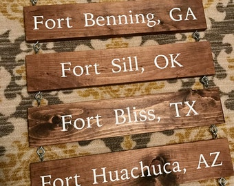 Home Is Where The Army Sends Us, Army Sign, Military Sign, Custom Sign, Family Ladder Sign, Add On Sign, Housewarming Gift, Custom Sign