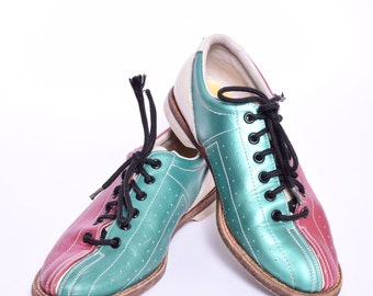 Vintage bowling shoe | Etsy