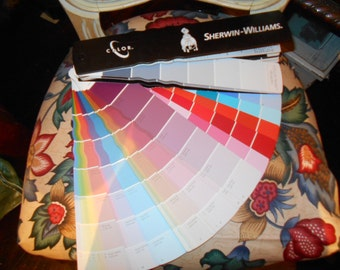Sherwin Williams Fan Deck 2011 Paint Colors,  Includes Discontinued and Unavailable