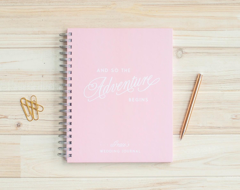 Wedding Journal Personalized Wedding Planner Book Wedding Binder