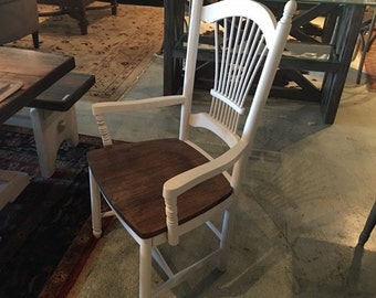 Sheafback Painted Arm Chair