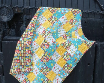 Woodland Baby Quilt | Woodland Nursery | Woodland Blanket | Handmade Baby Quilt | Neutral Baby Quilt | Neutral Blanket | Baby Boy Blanket