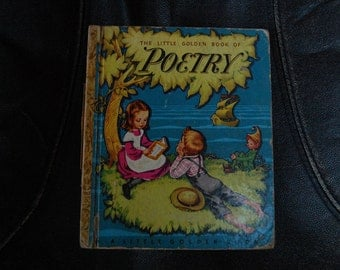 The Little Golden Book of Poetry 1947 A Little Golden Book E Printing
