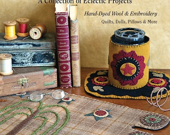 Pattern Book: Robin Vizzone's Peculiar Primitives - a Collection of Eclectic Projects by Robin Vizzone