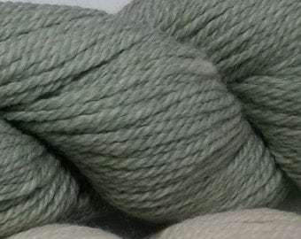 Yarn, Alpaca & Bamboo, Colorado grown, mill spun, Pale Green