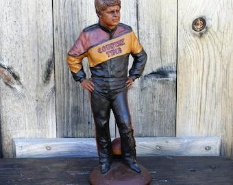 Vintage Tom Clark Figurine Bobby Hamilton,  NASCAR Bobby Hamilton, Cairn Studio