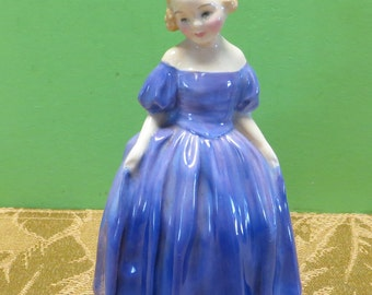 Vintage 1940's Royal Doulton Marie Figurine Made In England - Retired - Free Shipping