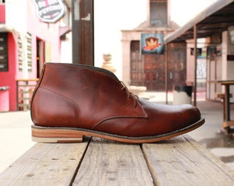 Chukka Boot (Burgundy)