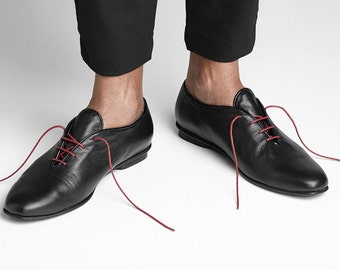20% Sale, Black Leather Shoes, Mens Leather Slippers Leather Oxfords, Dress Shoes, Mens Leather Sneakers, Mens Shoes, For Him, Black Shoes