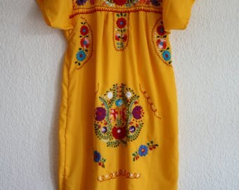 Summer Mexican dress (Size S)