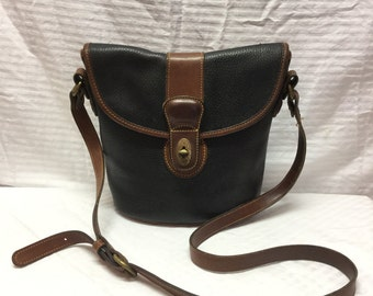 Coach Black Leather Purse Bag, Shoulder Bag