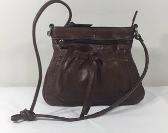 Fossil Brown Leather Purse, Bag, Shoulder Bag