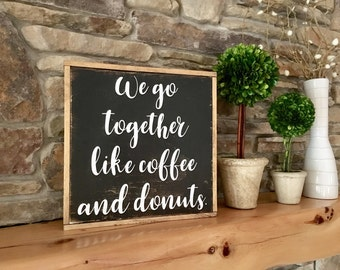 Coffee Wood Sign, Rustic Kitchen Decor, Wood Sign for Kitchen, Farmhouse Wall Decor, Fun Word Sign, Coffee Sign for Home, Wood Sign Sayings