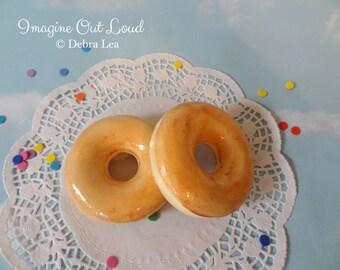 Fake Donut Doughnut Glazed DECOR Fake Cake Kitchen Decor Display