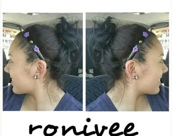 Spike Rose Headbands