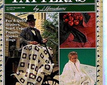 Vintage Crochet Patterns By Herrschners