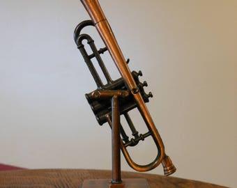 Die Cast Metal Trombone Pencil Sharpener