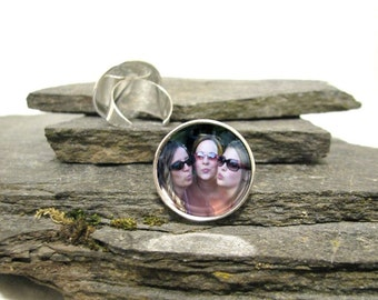 Friends Photo Ring, Personalized Photo Ring, Personalized Adjustable Ring, Your Photo Ring