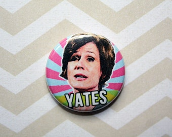 Sally Yates Democrat Politics Political Protest- one inch pinback button magnet