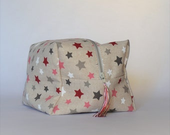Toiletry bag, toiletry travel bag for cosmetics and for weekend getaways or toiletry bag for every day