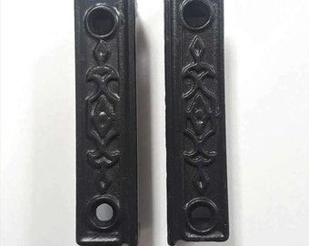 Iron Decorative Rim Lock Keepers 530553