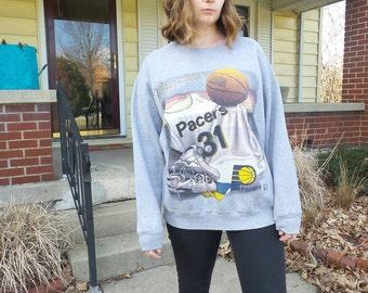Indiana Pacers Basketball Vintage Sweatshirt