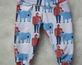 Paul Bunyan// Leggings