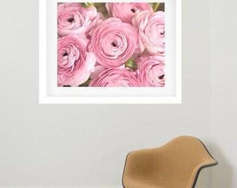 Photography framed art large frame art, shabby chic picture framed, framed flower artwork, framed floral art, matted and framed photo print