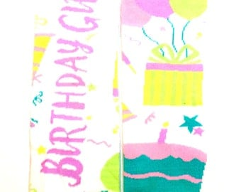 Birthday Girl Leg Warmers