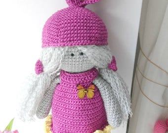 Crochet Merry Doll /amigurumi