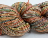 all about texture-hand dyed sock yarn-excellent for a cowl, hat or scarf...