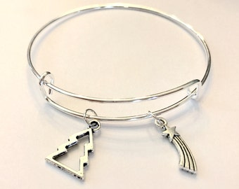 Gravity Falls Inspired Charm Bangle