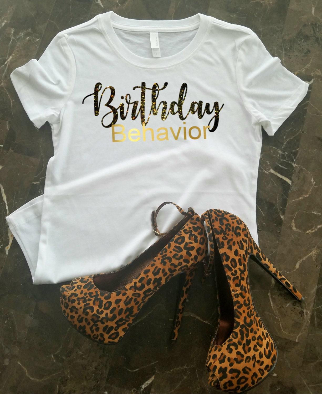 Birthday T-Shirt Birthday Shirt For Women Birthday Girl