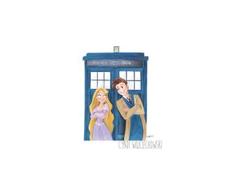 The Princess and the Doctor Series 1 Limited Print