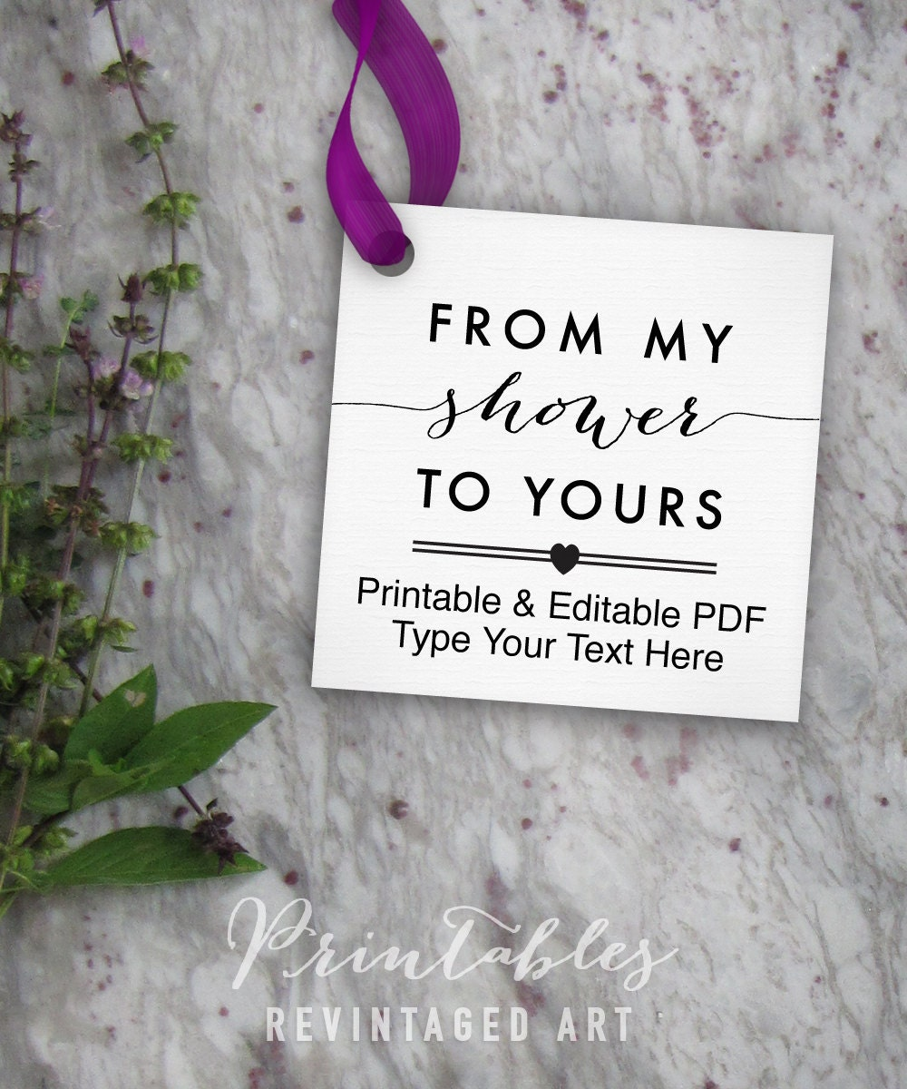 Epic image with from my shower to yours printable