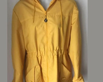 Vintage Parka Weather Tamer Large XL Nautical Windbreaker Made in USA