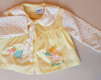 Vintage baby blouse. approx 12 months