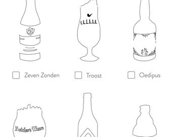 Amsterdam Checklist - Beers