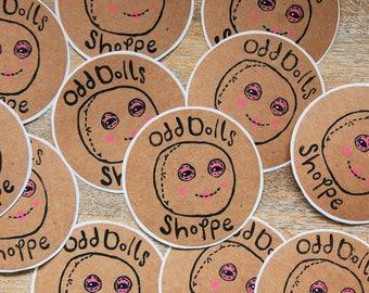 Odd Doll Stickers!