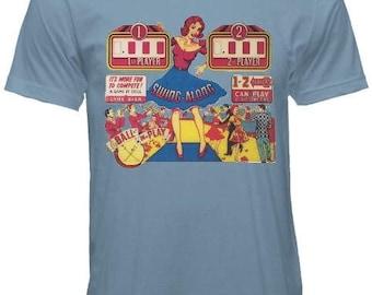 Vintage Swing Along Pinball T-Shirt